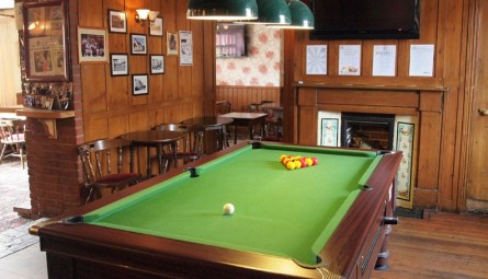 Pool Table in The White Horse