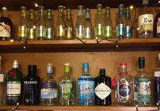 Gin shelf small